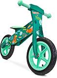 Велобег - беговел Caretero (Toyz) Zap деревянный колеса надувные 12 дюймов, фото 7