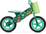 Велобег - беговел Caretero (Toyz) Zap деревянный колеса надувные 12 дюймов, фото 8