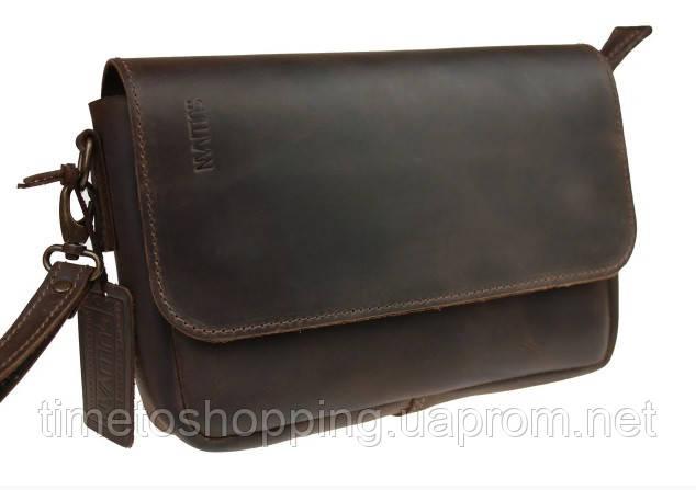 Мужская сумка барсетка кожаная, Барсетка чоловіча шкіряна