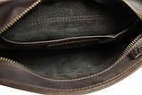 Мужская сумка барсетка кожаная, Барсетка чоловіча шкіряна, фото 4