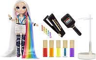 Рейнбоу Хай набор с Куклой Стильная прическа 5 в 1 (Амайя Рейн) Rainbow High Fashion Studio Avery Styles, фото 1
