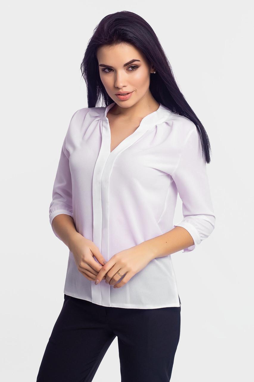 S, M, L, XL | Класична жіноча блузка Kary, білий