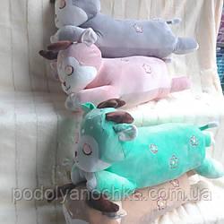 """Іграшка-плед-подушка  """"Олені"""" 70 смх35"""