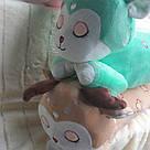 """Іграшка-плед-подушка  """"Олені"""" 70 смх35, фото 3"""