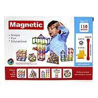 Магнитный конструктор J&H 110 элементов