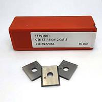 15,0х12,0х1,5 CTOPP10 ніж змінний тб/спл, фото 1