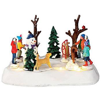 """Статуетка """"Снігова перестрілка"""", від бат."""