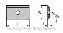 Ніж змінний тб/спл HW 15,0х12,0х1,5 із покриттям CeraShield