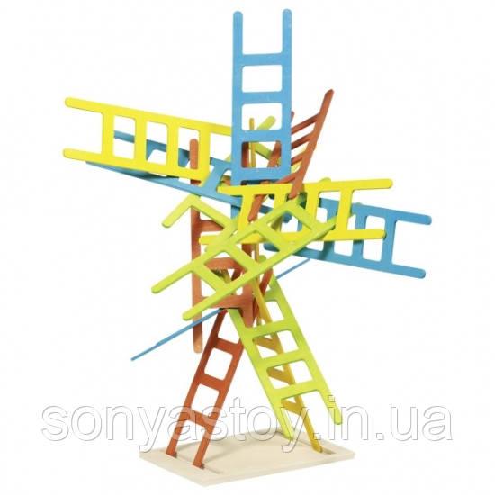 Развивающая игра Балансирующие стулья или балансир, 3+