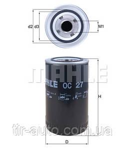 Фильтр масляный DAF F 1100, F 2100, F 2300, F 2500, F 900 ( Knecht-Mahle ) OC27