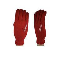 Перчатки SmartTouch iGlove АйГлов Красные
