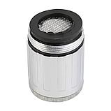 Светодиодная насадка на кран с датчиком температуры, фото 3
