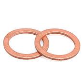 Кольцо Медное(DIN7603A)Шайба Уплотнительная Плоская