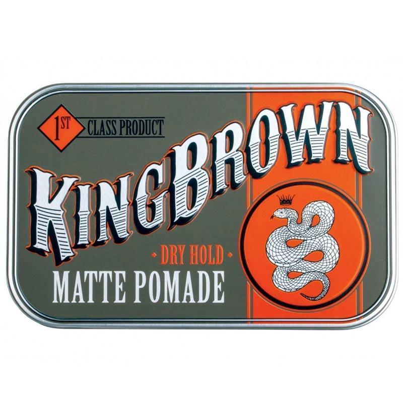 Помада для укладки волос King Brown Matte Pomade 75г