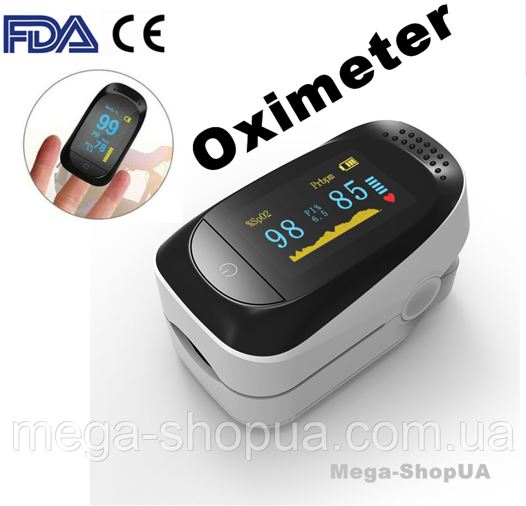 Пульсометр оксиметр на палец Pulse Oximeter S321WB. Пульсоксиметр. Измеритель пульса. Измеритель кислорода