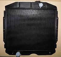 Радиатор ГАЗ-53 основной 3-х рядный системы охлаждения водяной медный.