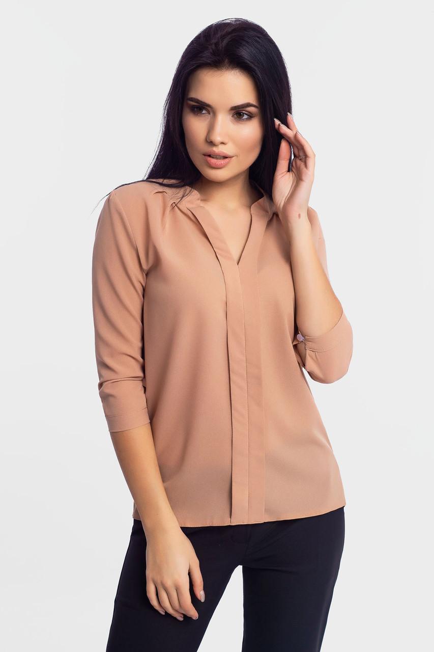 Молодежная женская блузка Kary, бежевый