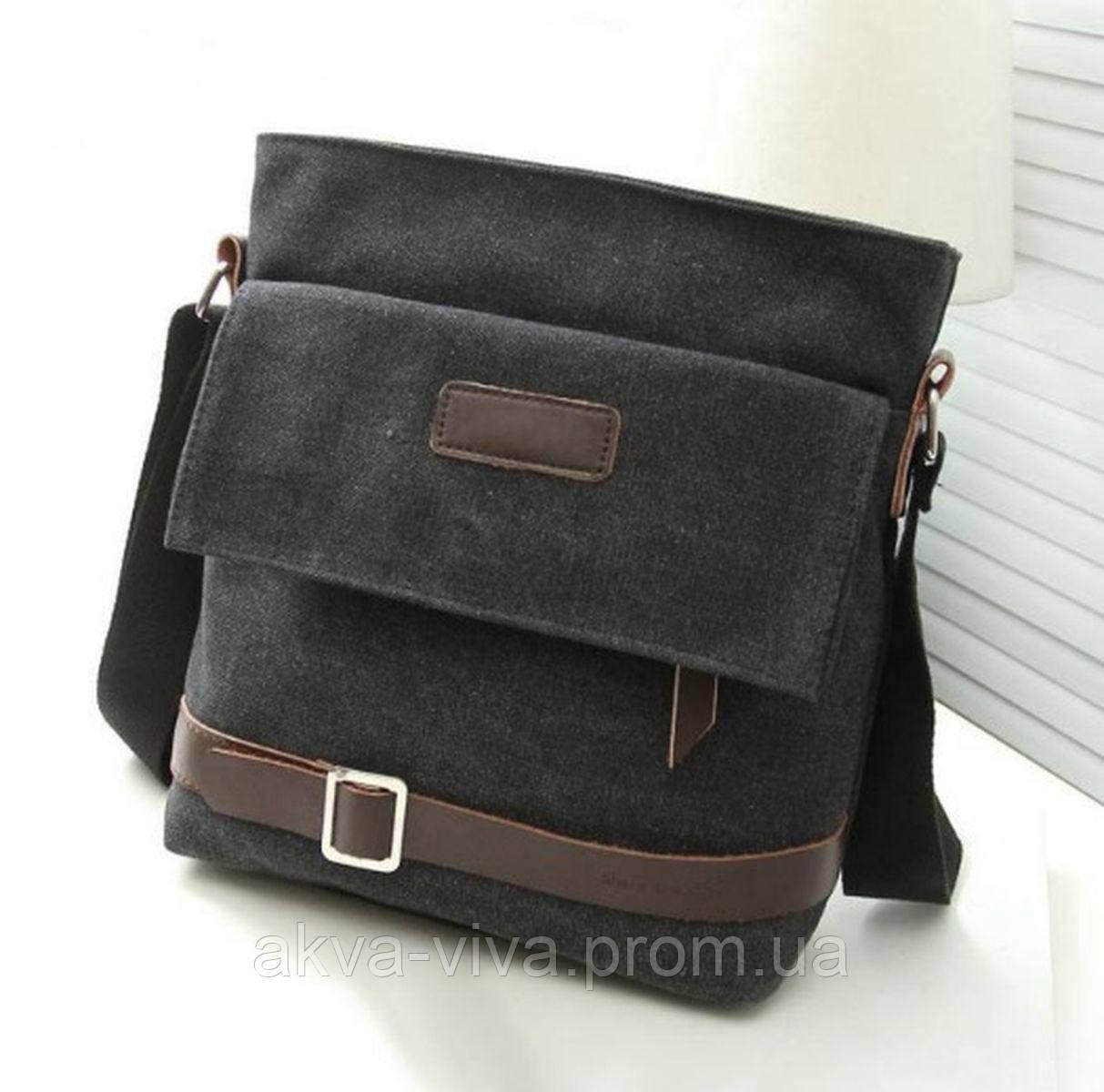 Стильная тканевая мужская сумка (СК-2002)