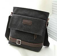 Стильная тканевая мужская сумка (СК-2002), фото 1
