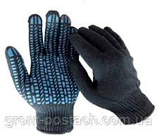 Перчатки трикотажные WERK WE2122H (черно-синие)
