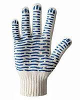 Перчатки трикотажные WERK WE2121H (бело-синие)