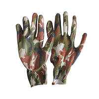 Перчатки рабочие с нитриловым покрытием WERK WE2140 (хаки)