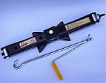 Домкрат 2т Elegant Plus EL 100 830 винтовой ромбовидный с ручкой, фото 8