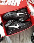 Мужские зимние кроссовки Nike Air Force 1 07 Mid LV8 (черные) KS 1610, фото 2