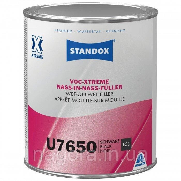 Грунт-наполнитель Standox VOC-Xtreme Wet-On-Wet Filler U7650 Black (1л)