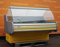 Холодильная витрина колбасная «Технохолод Невада» 1.6 м. (Украина), хорошее состояние, Б/у, фото 1
