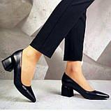 Туфли кожаные AVK 6057, Черный, 36, фото 4