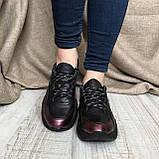 Кроссовки CORI, Бордовый, 36, фото 3