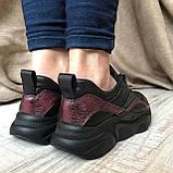 Кроссовки CORI, Бордовый, 36, фото 4