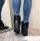 Луноходы кожаные AVK, Черный, 36, фото 3