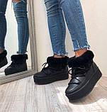 Луноходы кожаные AVK, Черный, 36, фото 5