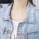 Куртка женская джинсовая укороченная с ромашкой синяя Pretty #71, фото 6
