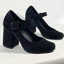 Туфли Affecte Noir, Черный, 36