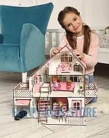 Кукольный домик ЛОЛ + мебель! Ляльковий будиночок з меблями