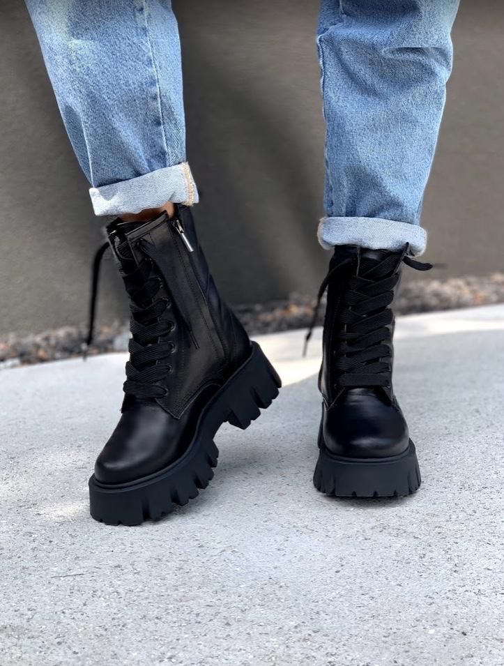 Ботинки женские AVK черные astra