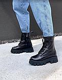 Ботинки женские AVK черные astra, фото 2