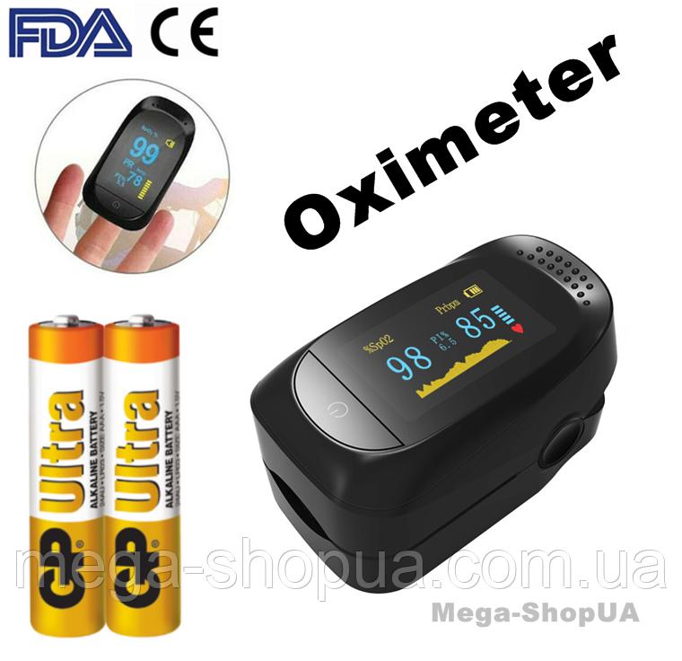 Пульсометр оксиметр на палец Pulse Oximeter S321BBC. Пульсоксиметр. Измеритель пульса. Измеритель кислорода