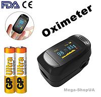 Пульсометр оксиметр на палец Pulse Oximeter S321BBC. Пульсоксиметр. Измеритель пульса. Измеритель кислорода, фото 1