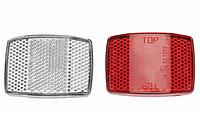 Набор светоотражателей (катафотов) красный+ белый BC-R51