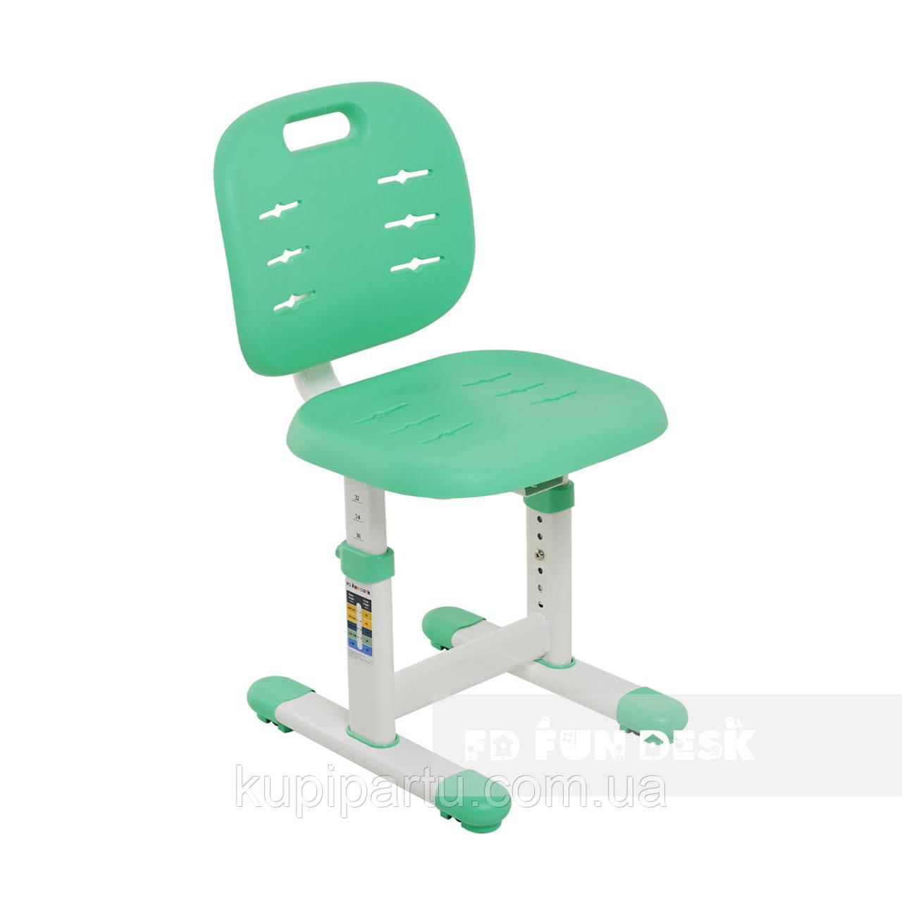 Детский стул FunDesk SST2-S Green (жесткая фиксация)
