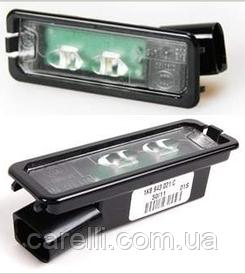 Фонарь подсветки номерного знака левый/правый LED для VW AMAROK 2010-16