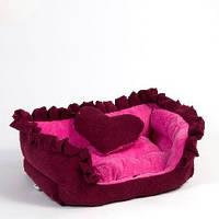 Лежак для собак и кошек Гламур.