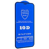 Cтекло 10D для iPhone 12 Pro Max - black