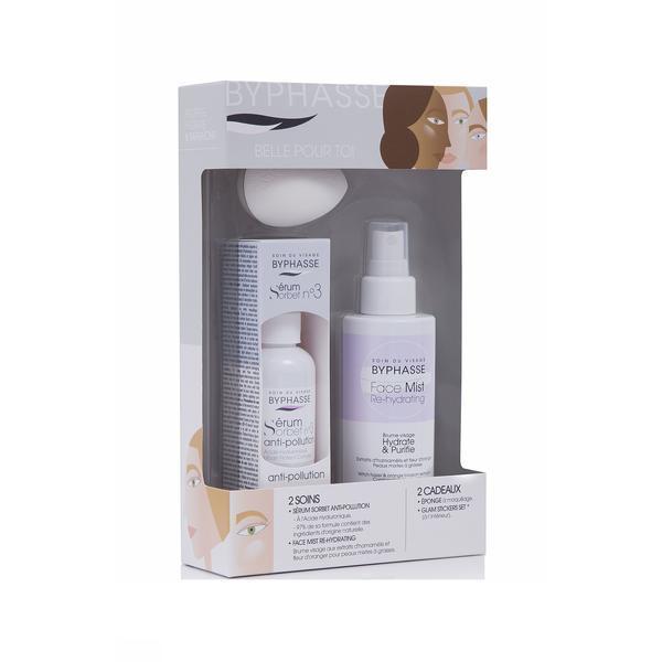 Byphasse Sorbet Serum Anti-pollution №3 Set Подарочный набор