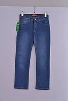 Детские джинсы на мальчика и девочку Л-187 синие рост 128 134 и 140, фото 1