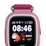 Смарт-часы детские Wonlex Q90 Pink Розовые, фото 3